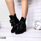 Ботиночки на шнуровке