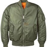 Женская куртка бомбер MA-1 W Flight Jacket оливковая