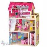 Кукольный домик Malinowa EcoToys 4120 2 куклы