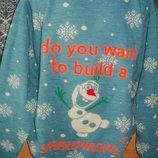 тёплый новогодний свитер carson. с Олафом