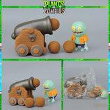 Растения против зомби | Plants vs Zombies Игровой набор 1 Растения стреляют шариками в зомби