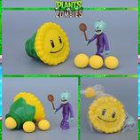 Растения против зомби   Plants vs Zombies Игровой набор 6 Растения стреляют шариками в зомби