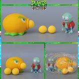 Растения против зомби   Plants vs Zombies Игровой набор 9 Растения стреляют шариками в зомби