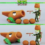 Растения против зомби   Plants vs Zombies Игровой набор 21 Растения стреляют шариками в зомби