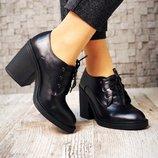Туфли на шнурках. Натуральная кожа.