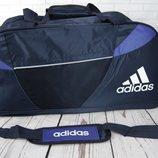 Большая дорожная сумка Adida s . Спортивная сумка с отделом для обуви Ксс30