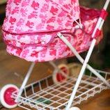 Качественная детская коляска для кукол Metr 8826 N класика, 68-58-29 см