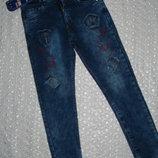 новые джинсы на мальчика 9 10 11
