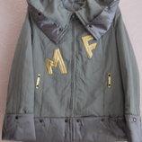 Куртка Ветровка оригинальная сталь р.44-46