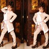 Детский нарядный костюм на девочку