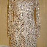 Платье коктейльное Boohoo р. 50 L