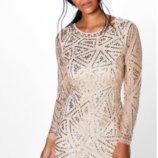 Платье коктейльное Boohoo р.46 M