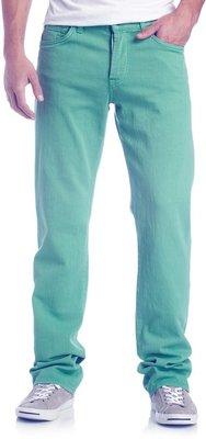 Мужские мятные джинсы Takko Fashion Германия, штаны брюки зеленые