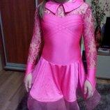 Бейсик на 3-6 лет рост 110-120 платье для танцев бейзик танцевальное платье