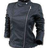 Женская куртка косуха из эко-кожи