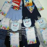 Распродажа последних пар перчаток-варежек - 1,5-2-4-8лет