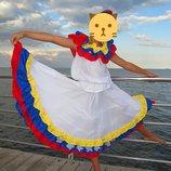 Костюм платье для испанских танцев рост 150-170 юбка для танцев топ