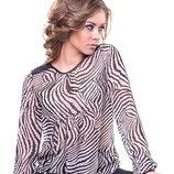 Акция. Фирменная блуза из качественного шифона. Есть большие размеры до 2XL.