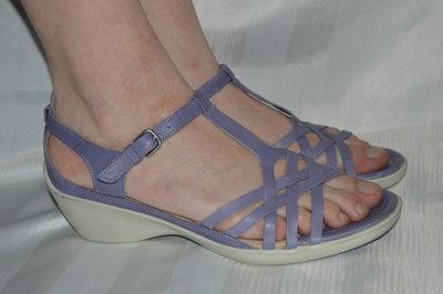 Босоножки сандали кожа ecco оригінал размер 41 42, босоніжки шкіра