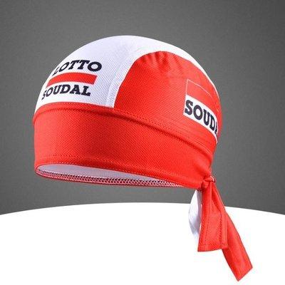 Велосипедная бандана Lotto Soudal