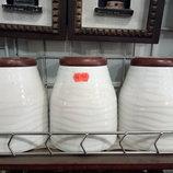 керамический набор для специй из 3 шт