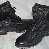 Сапоги ботинки кожа зима Landrover розмір 41 42, чоботи, ботинки шкіра