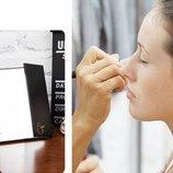 Светодиодное зеркало в виде книжечки с Led Лед подсветкадля макияжа