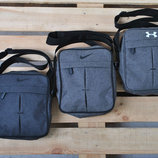 Мессенджер сумка на плечо барсетка Nike, Under Armour найк андер армор