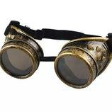 Винтажные очки стимпанк , сварщики