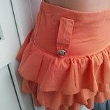 Очень красивая юбочка. Made in ITALY, 100% коттон, размер S-M.