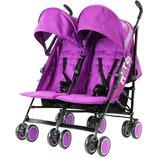 Прогулочная коляска-трость для двойни Zeta CiTi Twin Stroller