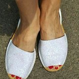 Кожаные сандалии Аварка Блеск. Испания