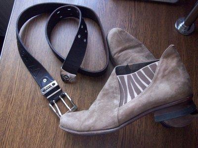рр 39-27 см стильные ботинки демисезонные замша Vabene эксклюзив