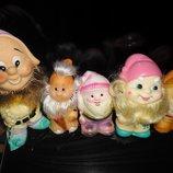 игрушка ссср гном коллекция 5 шт