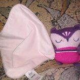 Слюновпитывающая игрушка для новорожденных игрушка платочек сплюша сова совушка