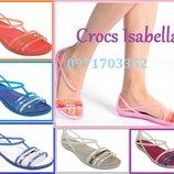 Crocs Isabella Изабелла разные цвета размеры 36-43