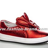 Слипоны Klf HF7958-4 красные для девочек