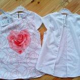 5,6 Літня блуза Роза, для дівчинки