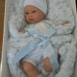 Кукла реборн Вита Тонета в розовом, озвученная, 34 см, Antonio Juan, 7030 Хуан, Хуан