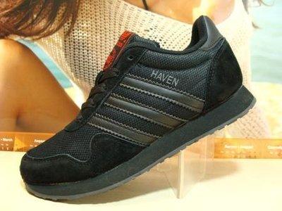Женские кроссовки adidas Haven черные 36р-41р