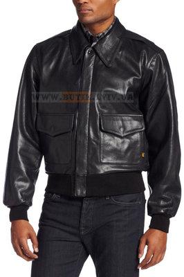 Шкіряна льотна куртка A-2 Goatskin Leather Jacket Alpha Industries чорна.  Previous Next 41f1da9aae39b