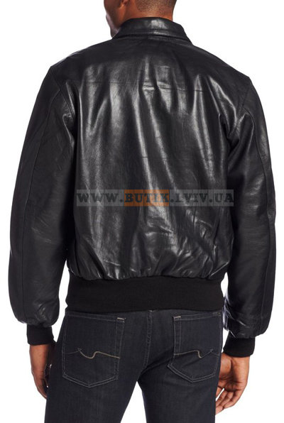 Шкіряна льотна куртка A-2 Goatskin Leather Jacket Alpha Industries чорна    9855 грн - демисезонная одежда alpha industries в Львове 54821b67d7e93