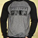 Свитшот - реглан Philipp Plein Филипп Плейн мужской.