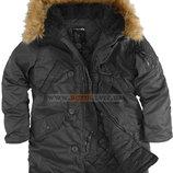 Зимняя женская куртка Аляска Darla Alpha Industries черная