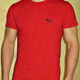 Футболка мужская Puma двухсторонняя красная.
