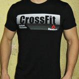 Футболка мужская Reebok CrossFit черная.