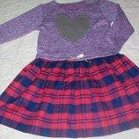 Фирменное нарядное платье Сердце