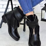 Кожаные ботинки хит сезона, качество люкс, деми и зима, кожа,шкіряні черевики