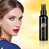 Спрей-Блеск для волос с золотыми блестками Expert styling