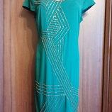 M&S новое платье 48 размер сукня 48 р платья 48 роз